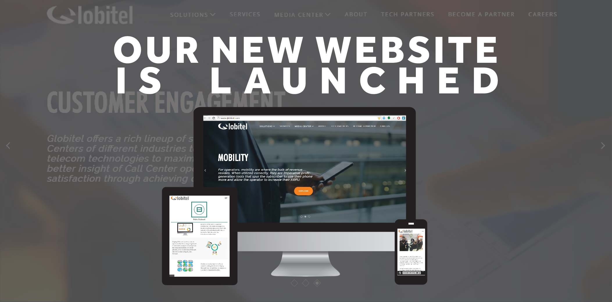 Globitel Launches its New Website