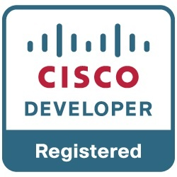 cisco registered developer logo