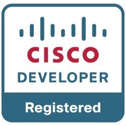 cisco registered developer logo