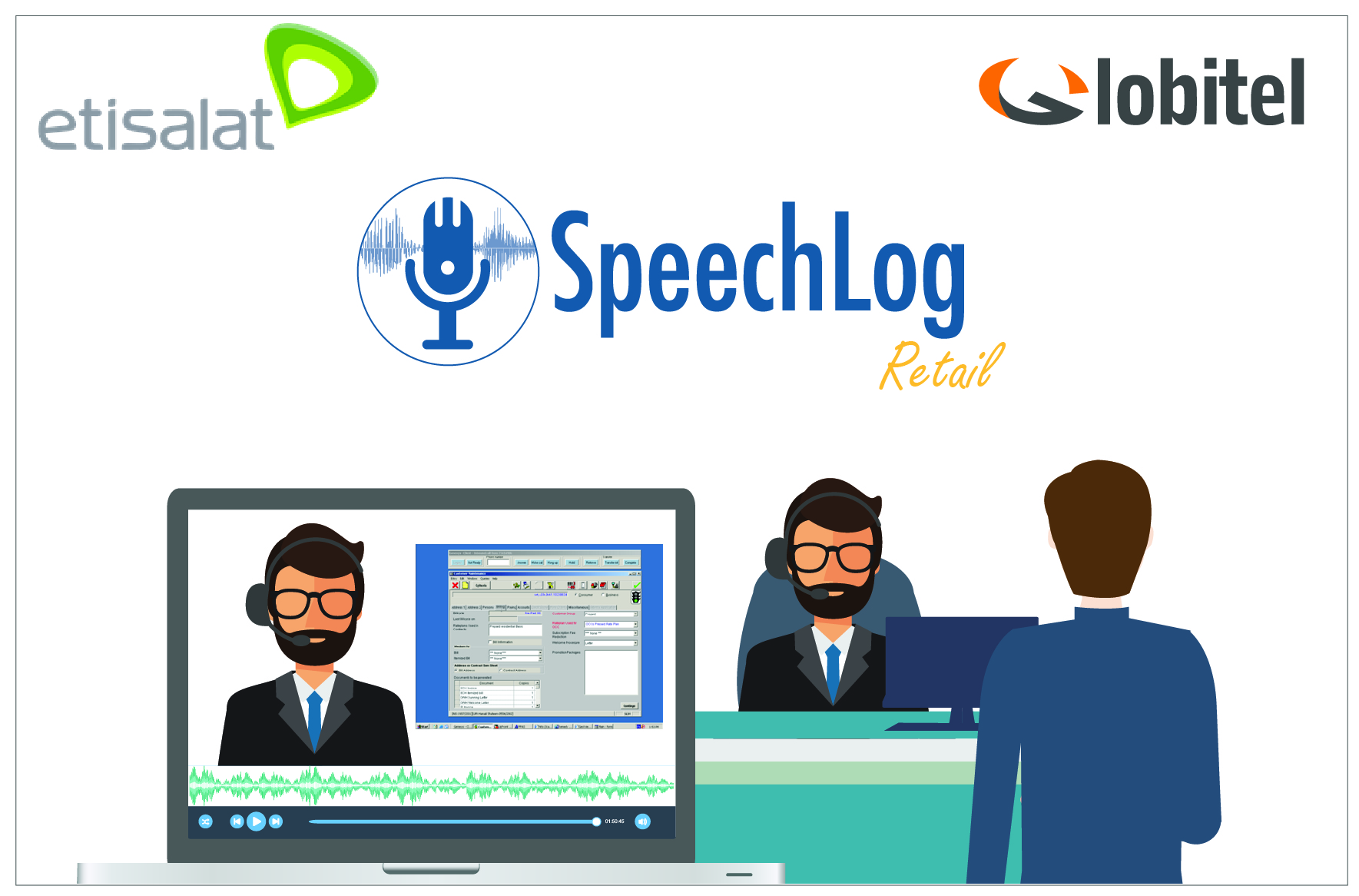 Etisalat Egypt Deploys Globitel's SpeechLog Retail for the Best Customer Service Experience