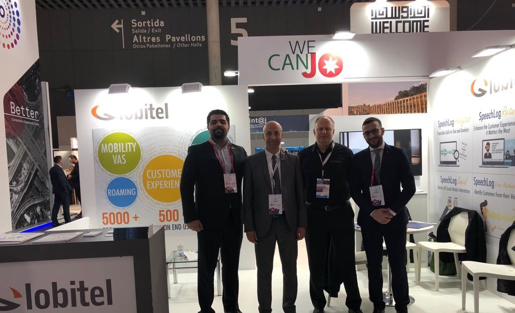 mobile world congress 2018 team picture