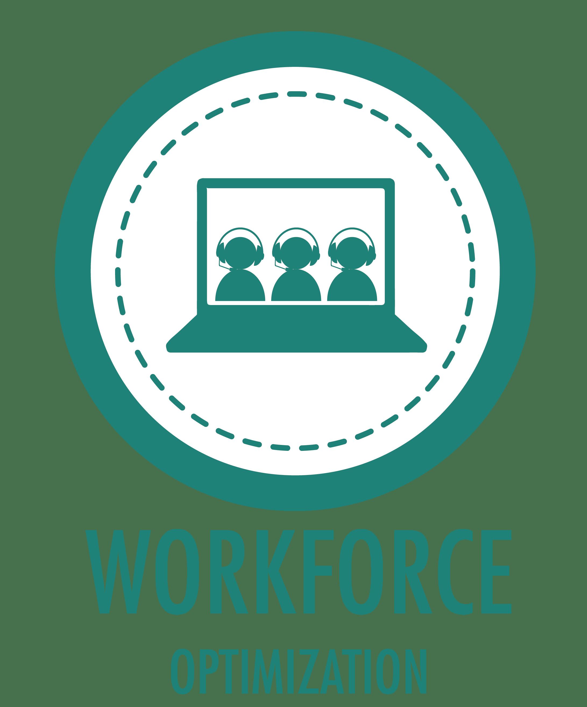 workforce optimization solutions graphic