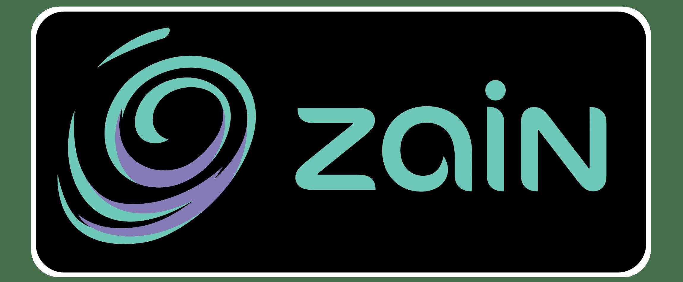 zain logo jordan