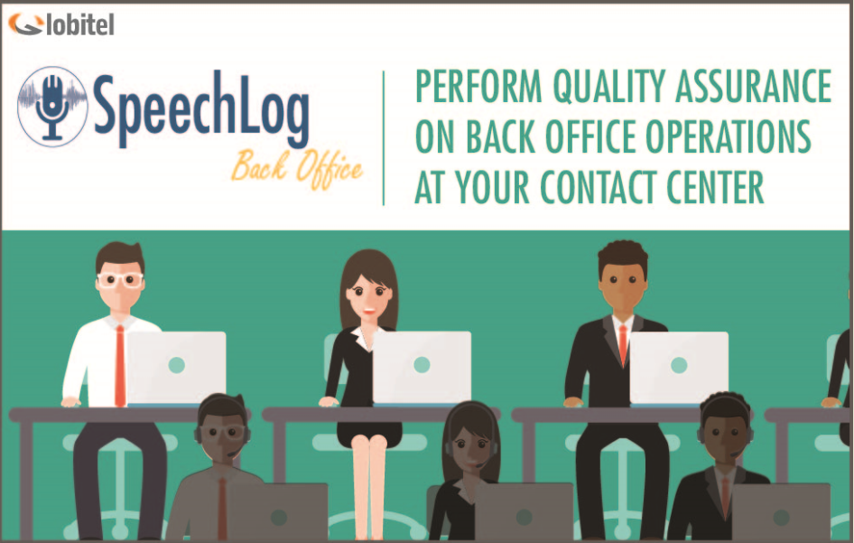 Speechlog back office