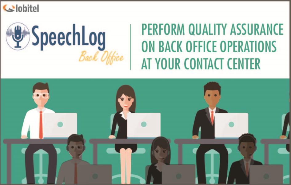 Speechlog back office